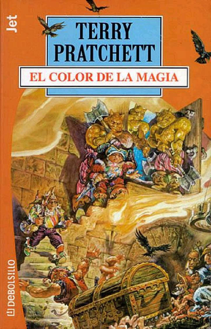 Reseña: Mundodisco 1. El color de la magia (Terry Pratchett)   El Ojo Lector