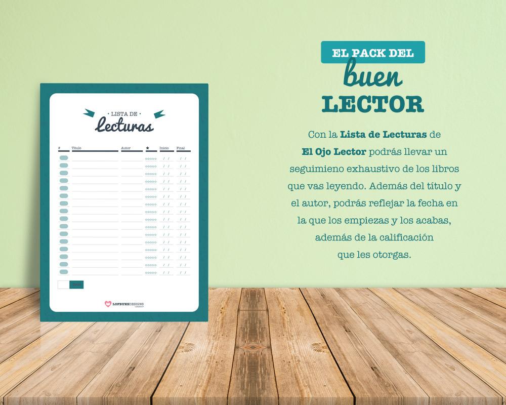 El Pack Del Buen Lector Listas De Lecturas Y De Pendientes Para Descargar